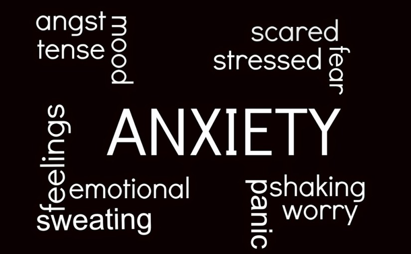 Anxiety.. me?