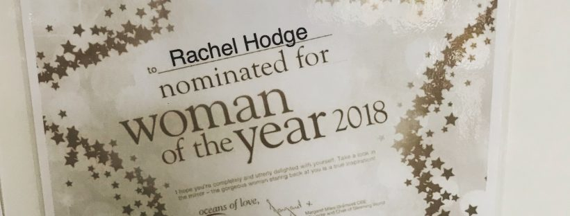 Woman of the Year nomination
